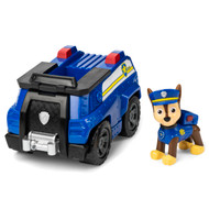 PAW Patrol Chase's Cruiser Vehicle with Collectible Figure for Kids, Police Vehicle Playset