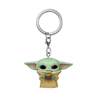 Funko POP! Keychain: Mandalorian - The Child with Cup