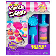Kinetic Sand, Bake Shoppe Playset with 1lb of Kinetic Sand + 16 Tools