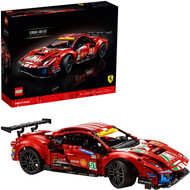 LEGO Technic Ferrari 488 GTE AF Corse #51 42125 Building Toy (1,677 Pieces)