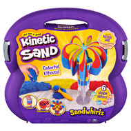 Kinetic Sand Sandwhirlz Playset with 3 Colors of Kinetic Sand (2lbs)