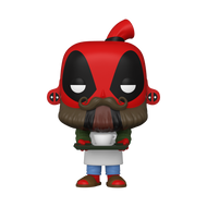 Funko POP! Marvel: Deadpool 30th - Coffee Barista