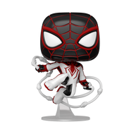 Funko POP! Games: Marvel's Spider-Man Miles Morales Miles (Track Suit)