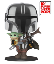 """Funko POP! Star Wars: The Mandalorian with The Child 10"""""""
