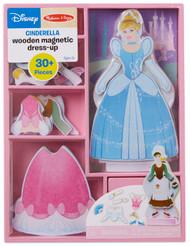 Melissa & Doug Disney Cinderella Magnetic Dress-Up Wooden Doll Pretend Play Set (30+ pcs)