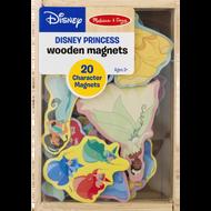 Melissa & Doug Disney Princess Wooden Magnets - 20 Character Magnets