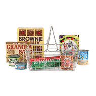 Melissa & Doug® Let's Play House! Grocery Basket with Play Food