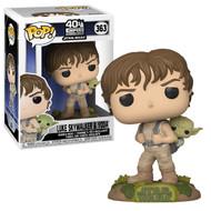Funko POP! Star Wars: ESB- Training Luke with Yoda