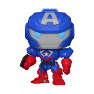 Funko POP! Marvel: Avengers Mech Strike - Captain America
