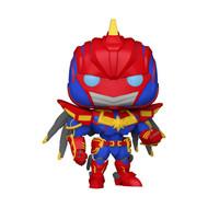 Funko POP! Marvel: Avengers Mech Strike - Captain Marvel