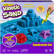 Kinetic Sand Sandcastle Set with 1lb of Kinetic Sand (Color May Vary)