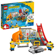 LEGO Minions Minions in Gru's Lab Building Toy 75546 (87 Pieces)
