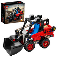 LEGO Technic Skid Steer Loader 42116 Model Toy for Kids Who Love Construction Trucks (139 Pieces)