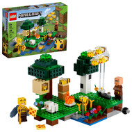 LEGO Minecraft The Bee Farm 21165 Building Toy with a Beekeeper, Bee and Sheep Figures (238 Pieces)