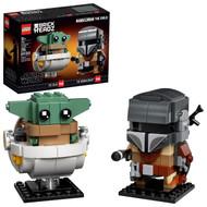 LEGO BrickHeadz Star Wars The Mandalorian & The Child 75317