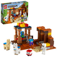 LEGO Minecraft The Trading Post 21167 Collectible Playset (201 Pieces)