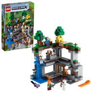 LEGO Minecraft The First Adventure 21169 Fun Minecraft Playset (542 Pieces)