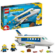 LEGO Minions: Minion Pilot in Training 75547 Minions Building Toy with Minion Figures (119 Pieces)