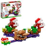 LEGO Super Mario Piranha Plant Puzzling Challenge Expansion Set 71382; Unique Toy for Creative Kids (267 Pieces)