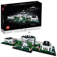 LEGO Architecture Collection: The White House 21054 Building Toy, for Kids and Adults (1,483 Pieces)