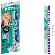 LEGO DOTS Mermaid Vibes Bracelets 41909 Creative DIY Craft Bracelet Toy for Kids (34 Pieces)