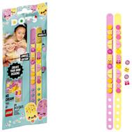 LEGO DOTS Ice Cream Besties Bracelets 41910 Creative DIY Craft Bracelet Toy for Kids (34 Pieces)