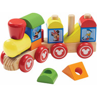 Melissa & Doug Disney Baby Disney Mickey Mouse Wooden Stacking Train