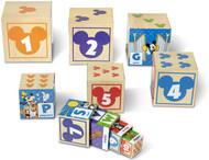Melissa & Doug Mickey Mouse ABC-123 Nesting & Stacking Blocks