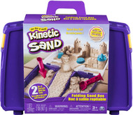 Kinetic Sand, Folding Sand Box with 2lbs of Kinetic Sand Kit