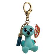 TY Beanie Boos - Mini Boo Collectible Clips - WILLIAM the Blue Flamingo (2 inch)