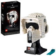 LEGO Star Wars Scout Trooper Helmet 75305 Collectible Building Toy (471 Pieces)