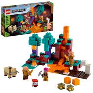 LEGO Minecraft The Warped Forest 21168 Minecraft Nether Playset (287 Pieces)