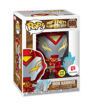 POP! Funko Marvel Infinity Warps Iron Hammer GITD #680
