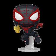 Funko POP! Games: Marvel's Spider-Man Miles Morales (Classic Suit)