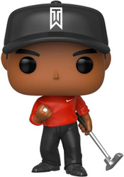 Funko POP! Golf: Tiger Woods (Red Shirt)