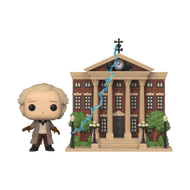Funko POP! Town: Back to the Future - Doc w/ Clock Tower