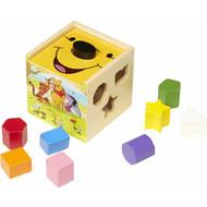 Melissa & Doug Disney Baby Winnie the Pooh Wooden Shape Sorting Cube