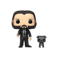 Funko POP! & Buddy: John Wick - John (Black Suit) w/ Dog
