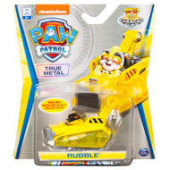 PAW Patrol, True Metal Rubble Collectible Die-Cast Vehicle, Charged Up Series