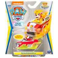 PAW Patrol, True Metal Marshall Collectible Die-Cast Vehicle, Charged Up Series 1:55 Scale