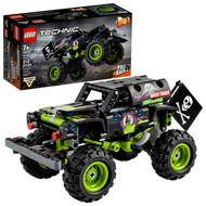 LEGO Technic Monster Jam Grave Digger 42118 Model Kit for Kids Who Love Monster Trucks (212 Pieces)