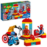 LEGO DUPLO Super Heroes Lab 10921 Marvel Avengers Construction Toy for Toddlers (30 Pieces)