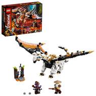 LEGO NINJAGO Wu's Battle Dragon 71718 Ninja Battle Building Toy for Kids (321 Pieces)
