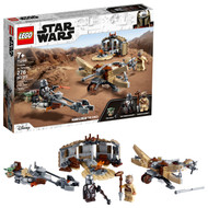 LEGO Star Wars: The Mandalorian Trouble on Tatooine 75299 Building Toy for Kids (277 Pieces)