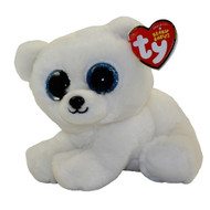 TY Beanie Baby - ARI the Polar Bear (6 inch)