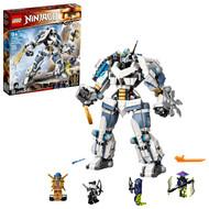 LEGO NINJAGO Legacy Zane's Titan Mech Battle 71738 Ninja Building Toy (840 Pieces)