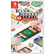 Clubhouse Games: 51 Worldwide Classics, Nintendo Switch, 045496596781