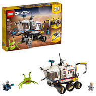LEGO Creator 3in1 Space Rover Explorer 31107 Building Toy for Kids Ages 8+ (510 pieces)