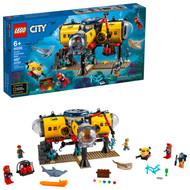 LEGO City Ocean Exploration Base 60265, Building Toy for Kids Ages 6+ (497 Pieces)