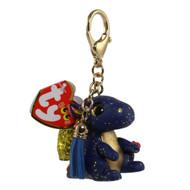 TY Beanie Boos - Mini Boo Collectible Clips - SAFFIRE the Dragon (2 inch)